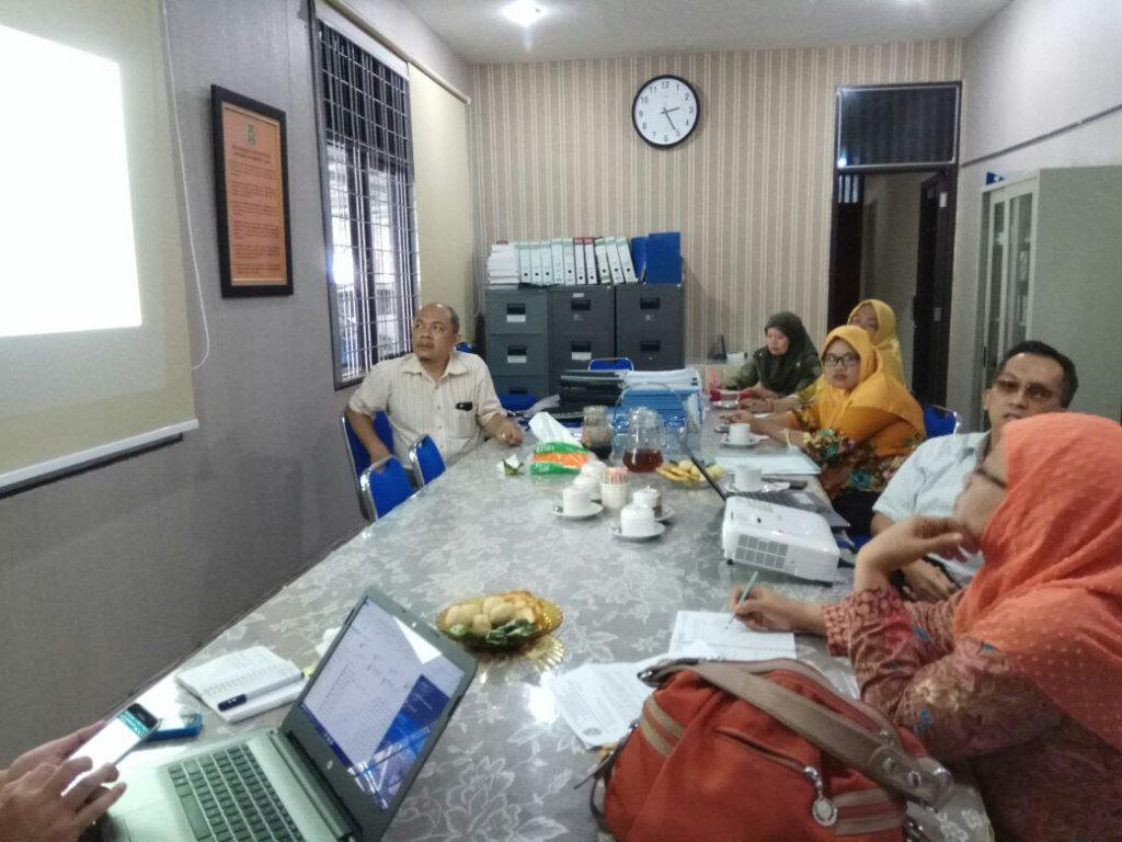 Visitasi Tim UMM USU ke Fakultas Kehutanan, Hari Kamis, 01 Maret 2018
