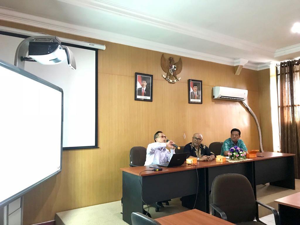 Visitasi Tim UMM USU ke Fakultas MIPA, Hari Senin, 05 Maret 2018