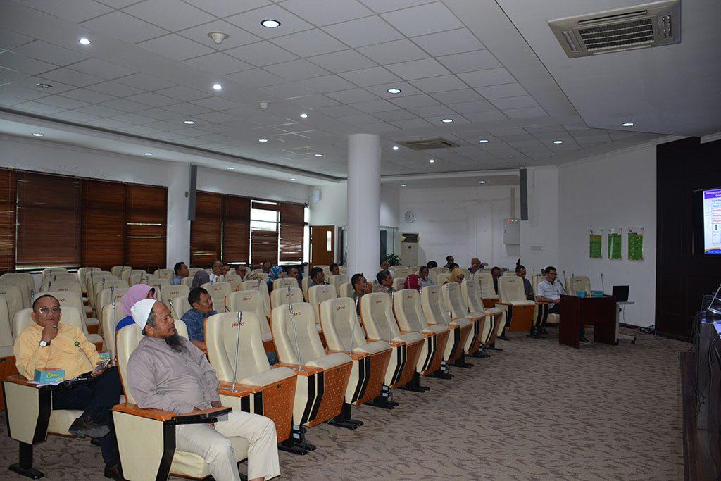 Visitasi Tim UMM USU ke GJM dan GKM Non Akademik, Hari Senin, 05 Maret 2018