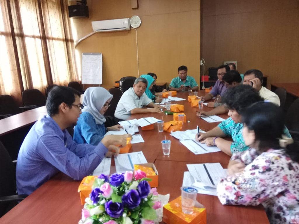 Visitasi Monitoring dan Evaluasi (Monev) SPMI ke GJM dan GKM Akademik Siklus 11 Tahun 2018